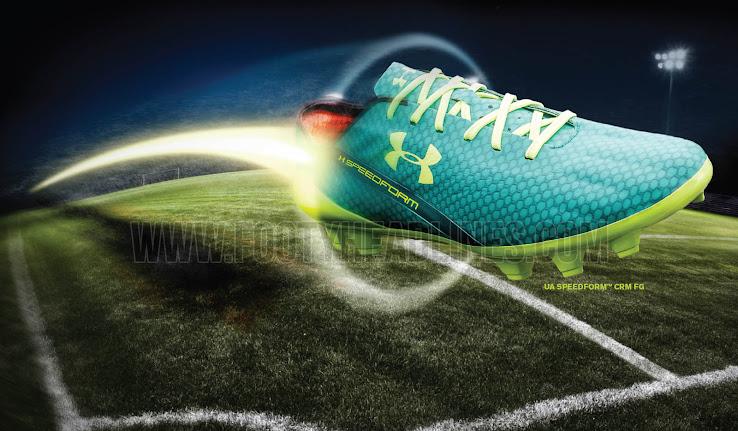 Memphis Depay Unveils Unreleased Under Armour Speedform Crm Boots