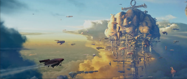 airhaven concept art mortal engines