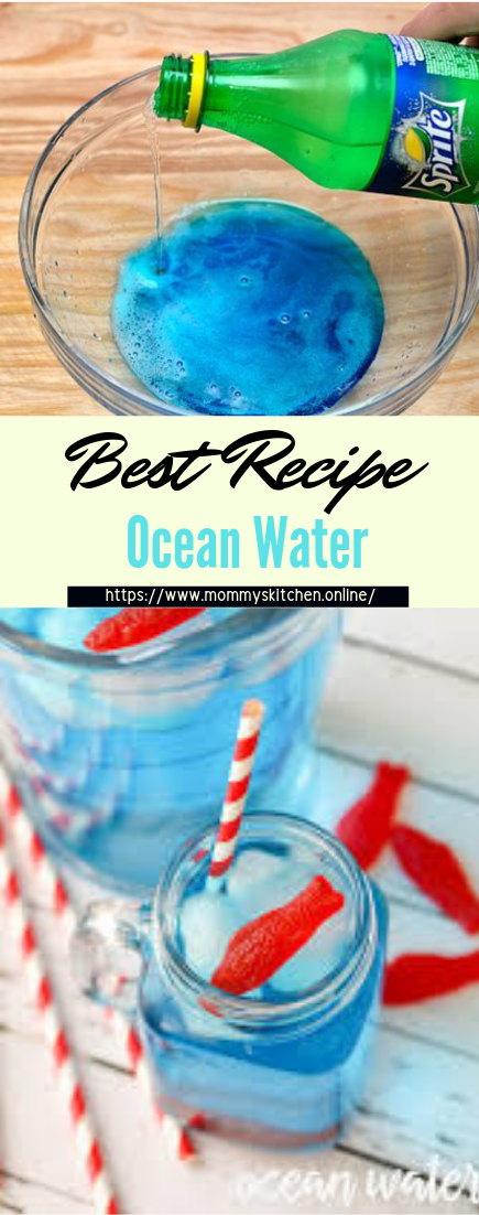 Ocean Water #healthydrink #easyrecipe #cocktail #smoothie