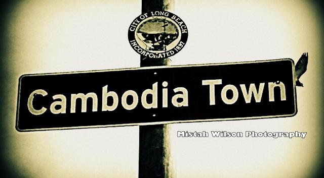 Cambodia Town, Long Beach, California by Mistah Wilson
