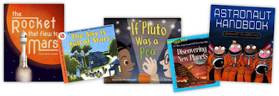 picture books about space exploration