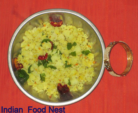 How to Make Idi Upma in 5 Minutes with Leftover Idlies? : Photo Tutorial