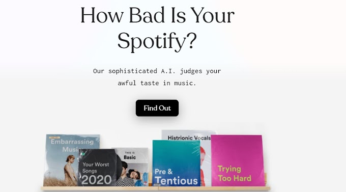 This AI makes fun of your musical tastes while analyzing your Spotify account