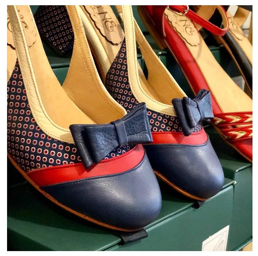 fcc39ce49 Los zapatos de Quiero June en venta pop up en la tienda de Makinita ...