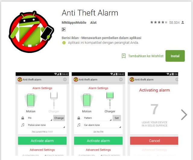 Anti Thef Alarm