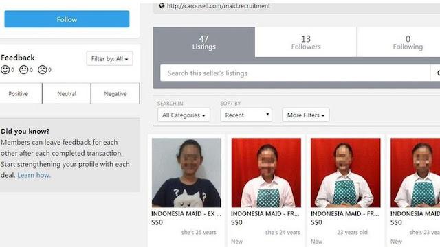 Agen 'Penjualan' PRT Indonesia via Online Didenda Rp 210 Juta