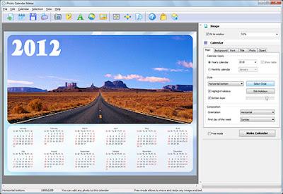 software pembuat kalender terbaru