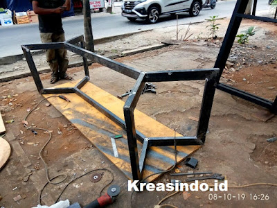 Kaki Meja Besi pesanan PT Talenta Tri Karya [ comvi interior ] di BSD Tangerang