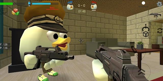Chicken Gun Hileli Apk - Para Hileli Mod Menü Apk