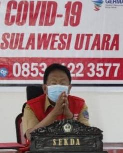 Sekprov Rapat Virtual Bersama Sejumlah Menteri Terkait Ketahanan Pangan