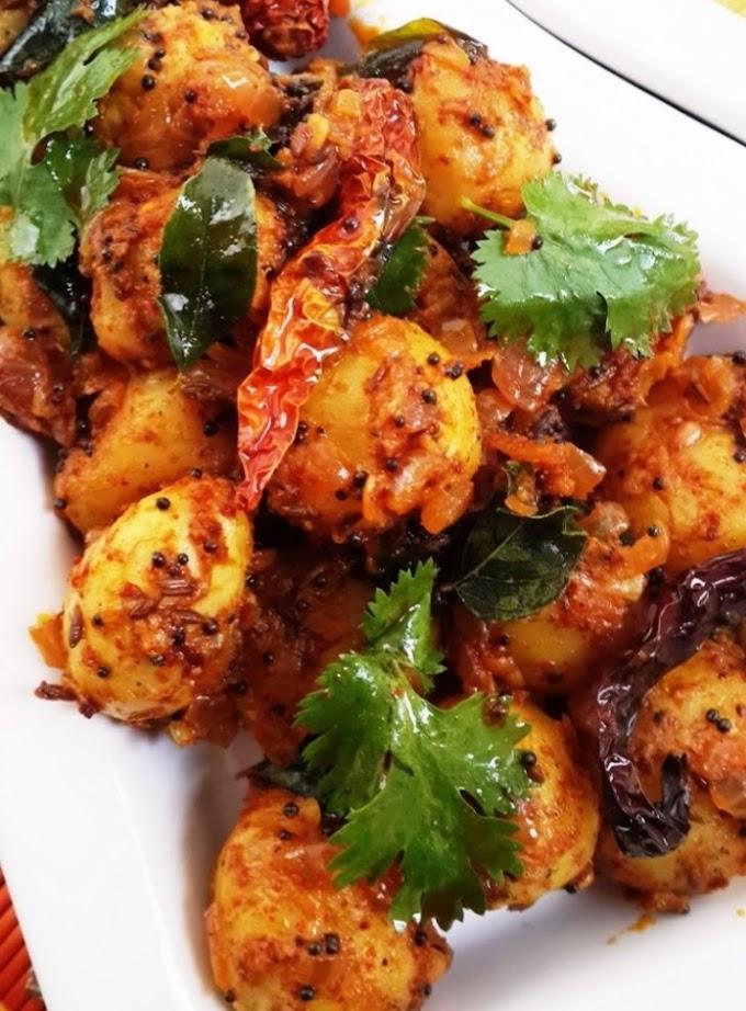 Piro aalu ( spicy potato)