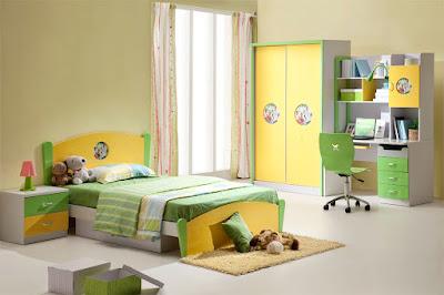 Kamar Tidur Anak Perempuan Minimalis Sederhana