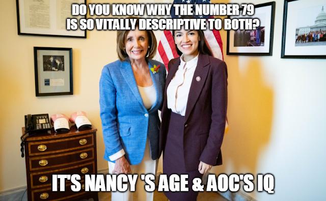 Alexandria Ocasio-Cortez Nancy Pelosi