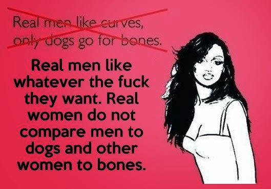 My favourite quotes: Real men, real women