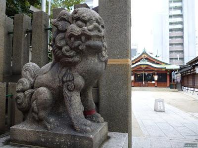堀川戎神社狛犬