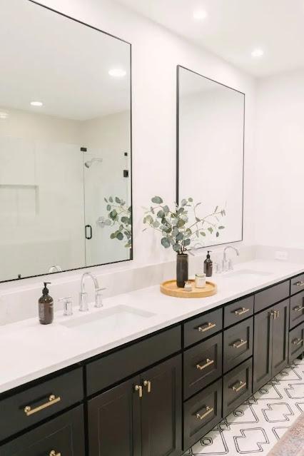 اجمل ديكورات حمامات صغير2021
