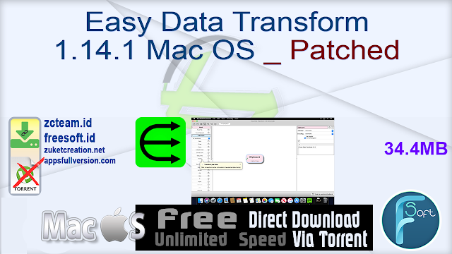 Easy Data Transform 1.14.1 Mac OS _ Patched