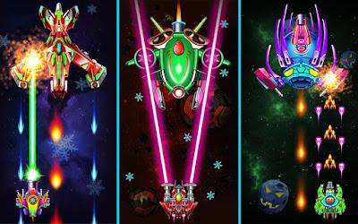 لعبة Galaxy Attack مهكرة مدفوعة, تحميل APK Galaxy Attack, لعبة Galaxy Attack مهكرة جاهزة للاندرويد