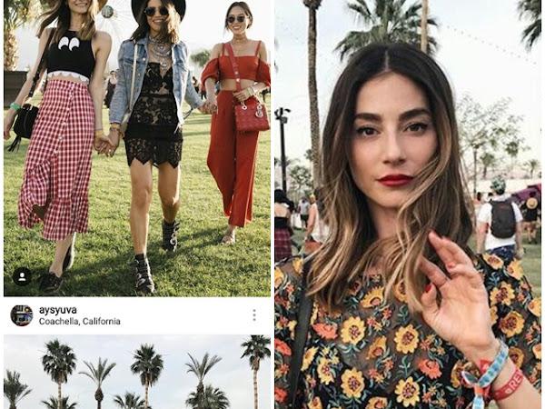 Os melhores looks de street-style do Coachella 2017