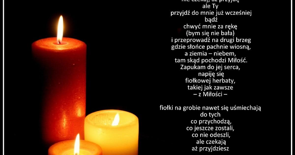 Wiersz dla zmarłej matki