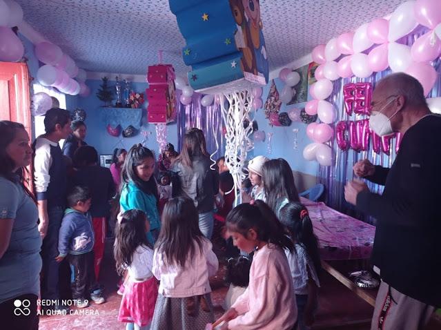 Kindergeburtstag Majdiel hija del Hugo 2 Jahre alt ist sie geworden