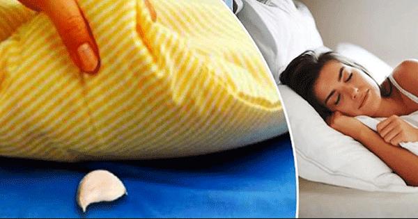 Gralic clove under pillow