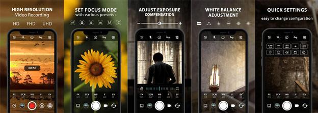 تطبيق التصوير الإحترافي لأجهزة اندرويد