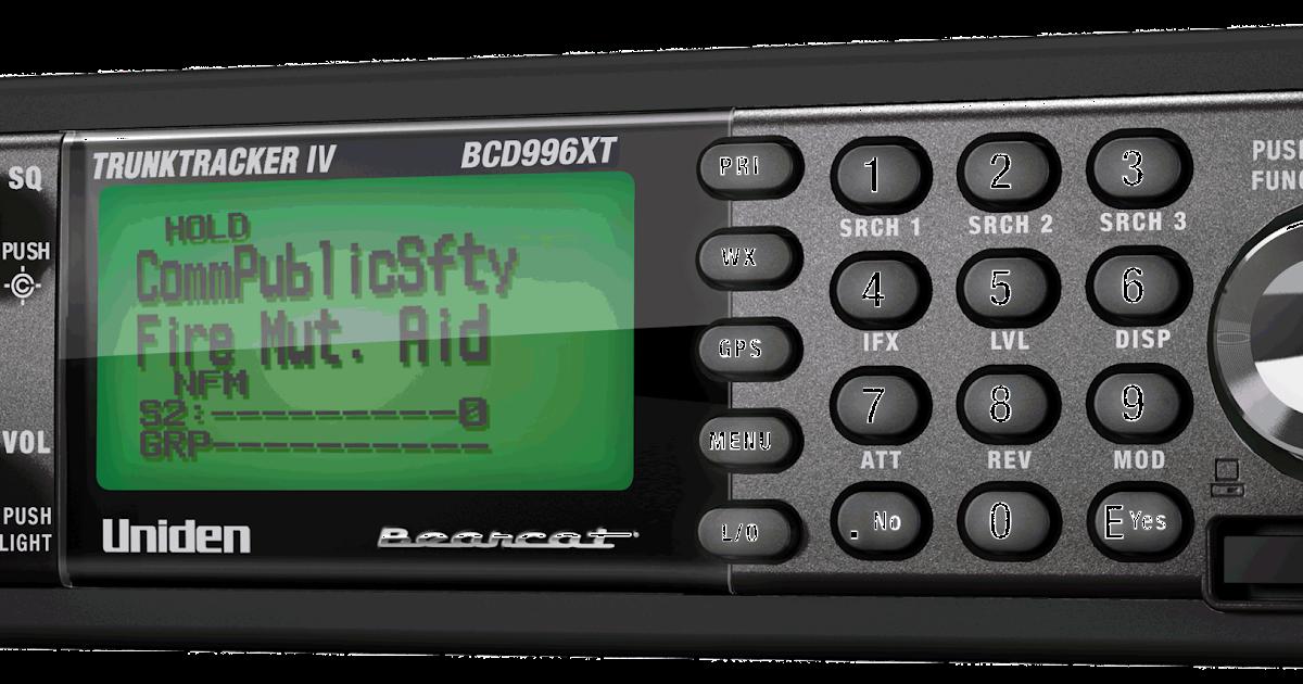 UNIDEN BCD996XT: UNIDEN BCD996XT Quick Keys