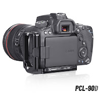 Sunwayfoto Custom L Bracket PCL-90D for Canon EOS 90D Preview