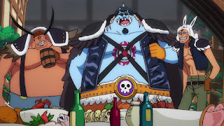 ワンピースアニメ 992話 ワノ国編   ONE PIECE ジンベエ