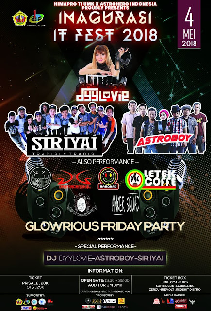 "- "" GLOWRIOUS FRIDAY PARTY "" -"