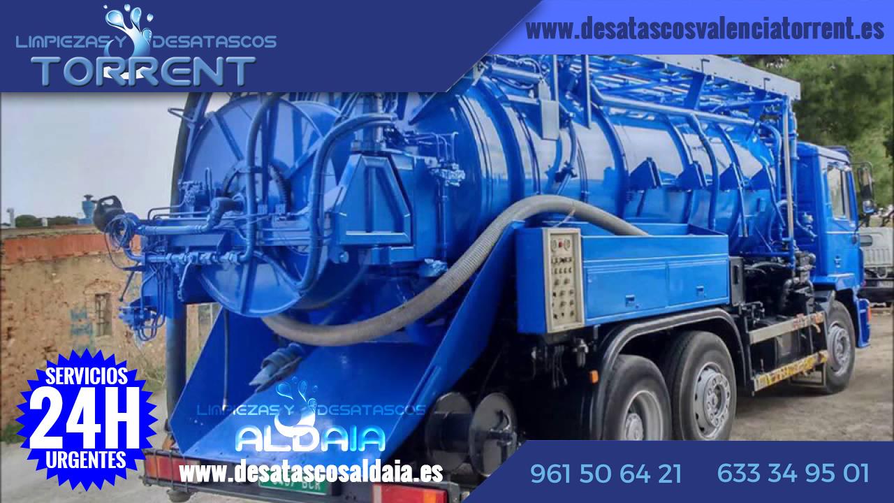 desatascos camiones cuba Aldaya Aldaia