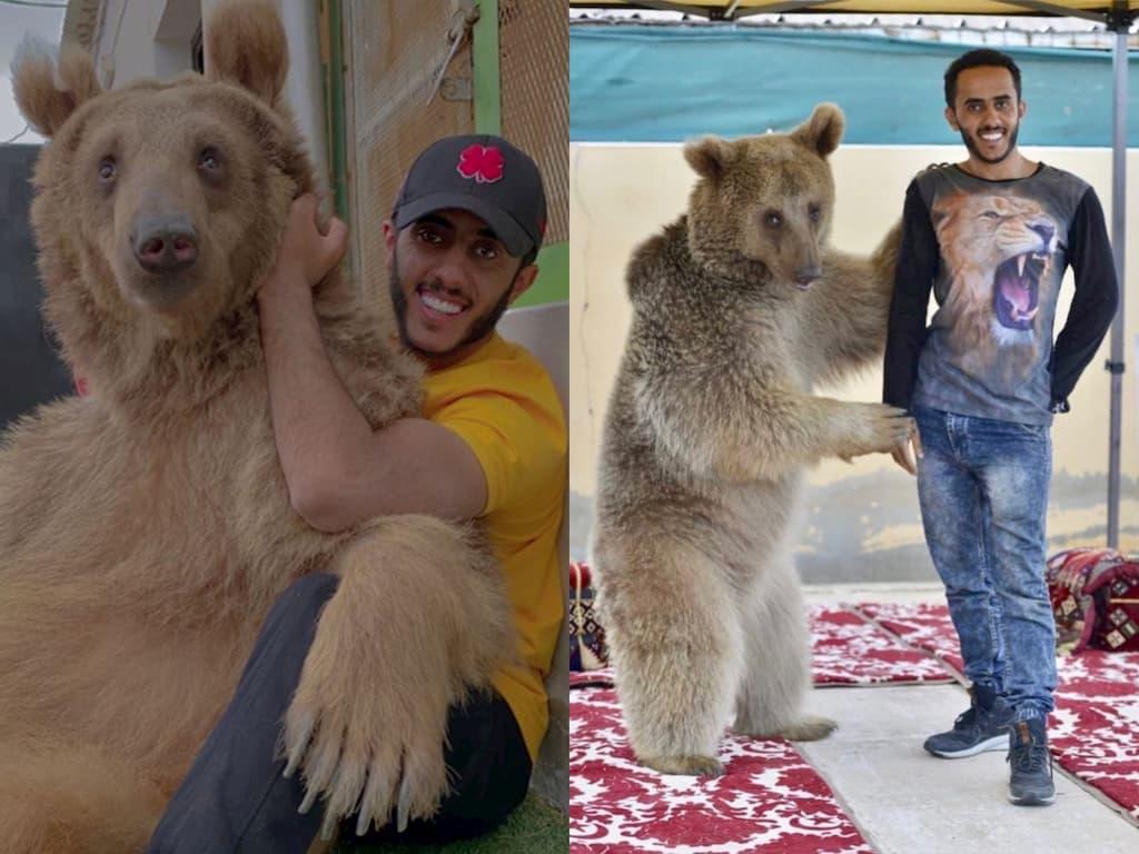 مربي الحيوانات أسامة الدغيري يتصدر الترند السعودي بسبب هذا الفيديو