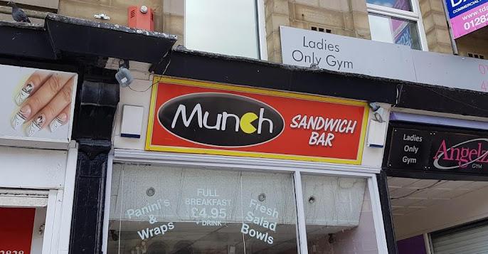 Munch sandwich bar in Burnley