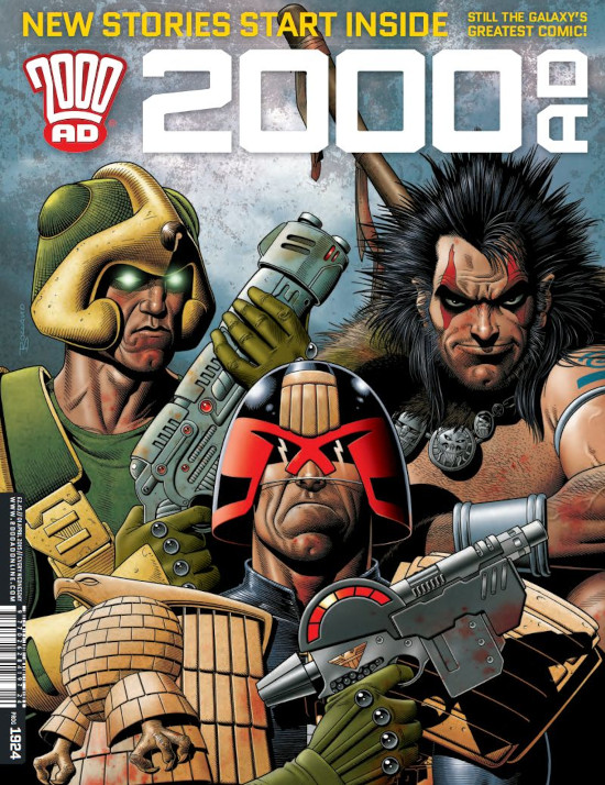 2000AD The Most Thrilling Comic Ever