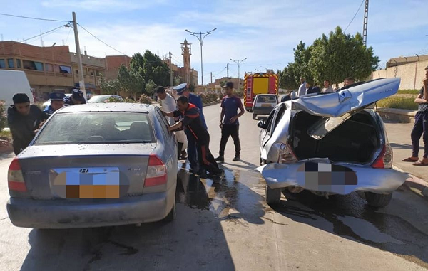 9 جرحى في حوادث مرور متفرقة ببلديات الشلف
