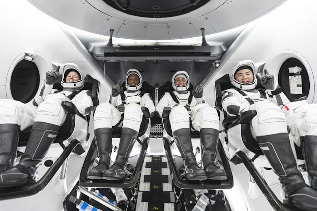 NASA And SpaceX Launch Rocket, Crew-1 Mission Dated Oct 31