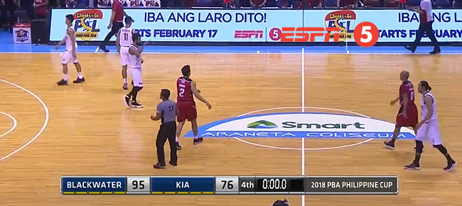 Blackwater def. Kia, 95-76 (REPLAY VIDEO) February 16