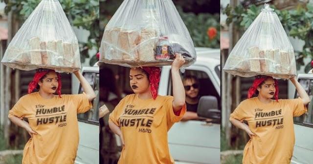 "Fans react to Nengi's new photos - ""Even as bread seller Nengi still fine"" (SEE REACTION)"