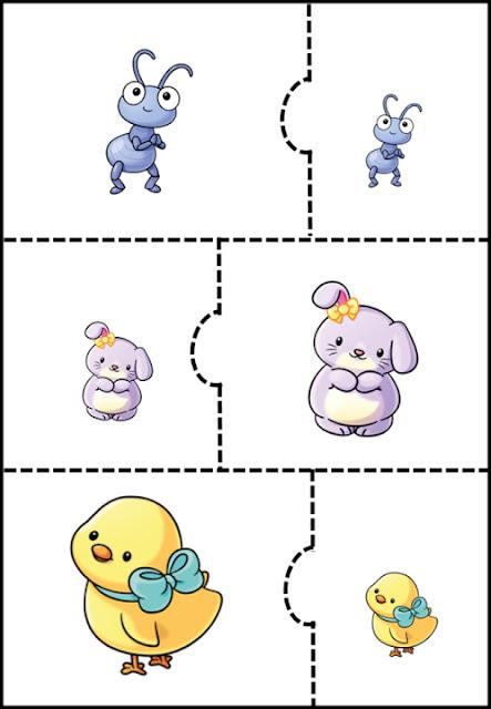 rompecabezas-animales-tamaños