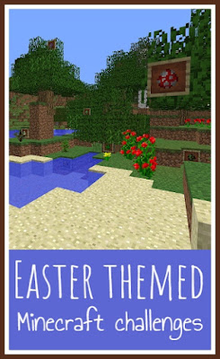 Easter themed Minecraft challenges