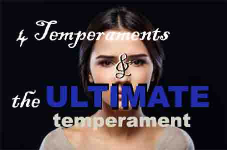 The four human temperaments