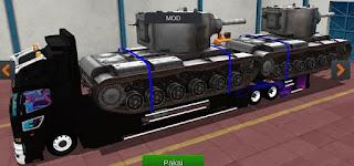 Bussid truk muat tank