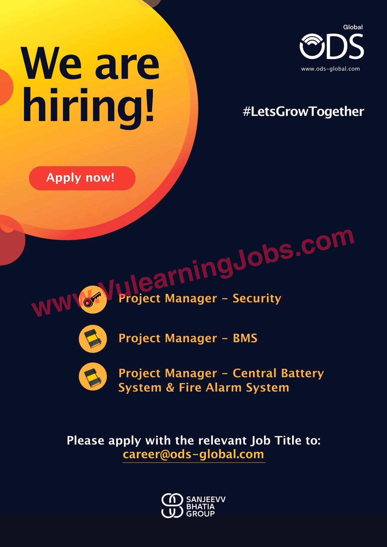 ODS Global DMCC Jobs July 2021 ELV Engineers, Project Manager Security, Project Manager BMS & Other Latest