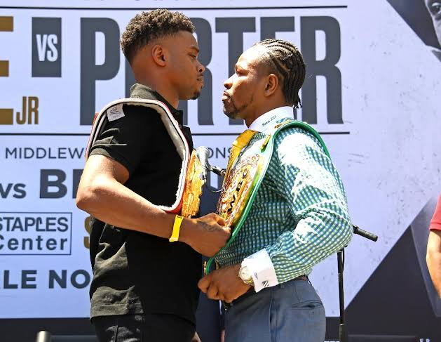 Errol Spence Vs Shawn Porter
