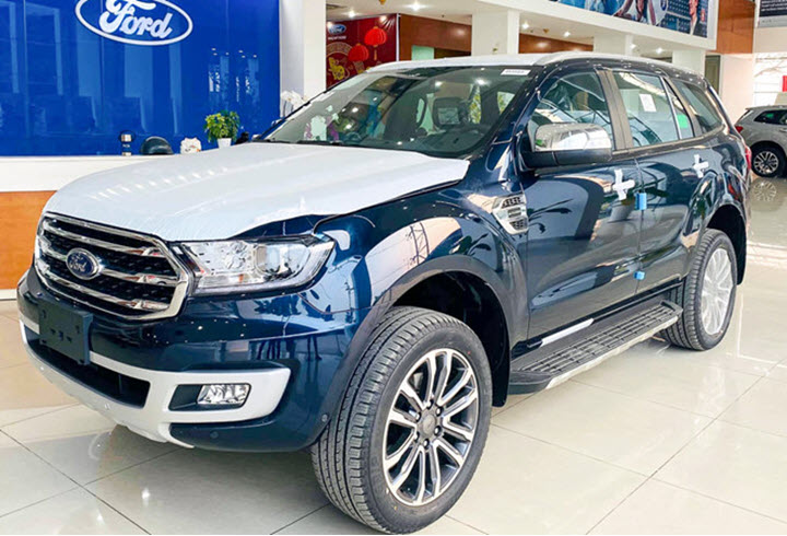 Xe SUV 7 chỗ: Sụt giảm doanh số, Toyota Fortuner bỏ xa Ford Everest