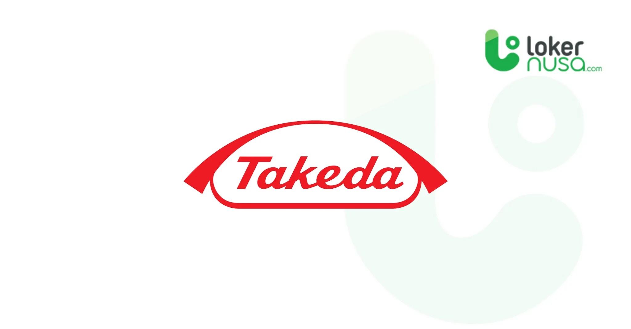 Lowongan Kerja Juli 2021 Takeda