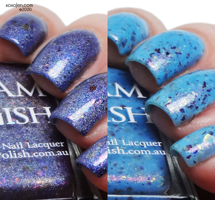xoxoJen's swatch of Glam Polish Group Customs