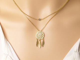 collier attrape reves