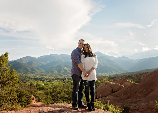 Garden of the Gods Colorado Family Photographer